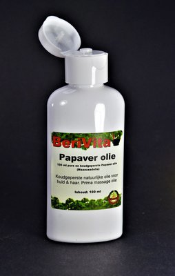 Papaverolie Puur 100ml flacon