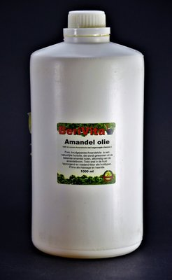 Amandelolie Puur Liter | Voordeelfles
