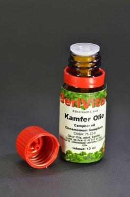 Kamfer Olie 100% 10ml  - Etherische Olie