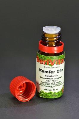 Kamfer Olie 10ml Druppelfles - Etherische Olie