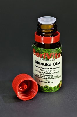 Manuka Olie 100% 10ml - Etherische Olie