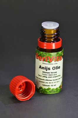 Anijsolie 100% 10ml - Etherische Olie