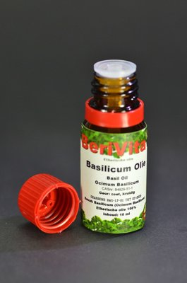 Basilicum Olie 100% 10ml - Etherische Olie