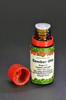 Gember Olie 100% 10ml - Etherische Olie