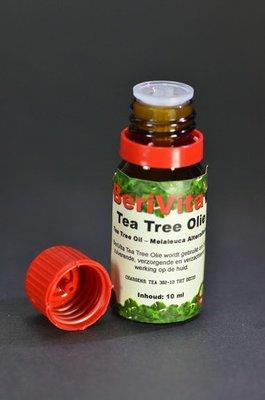Tea Tree Olie 10ml Druppelfles - Etherische Olie