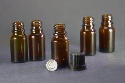 Druppelflesjes + Druppelaar 10ml - 10st | Glas