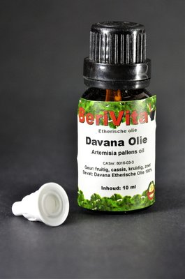Davana Olie 100% 10ml - Etherische Olie