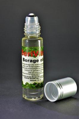 Borage - Bernagie Olie Puur 10ml Rollerfles