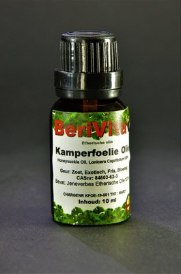 Kamperfoelie Olie 100% 10ml - Etherische Olie