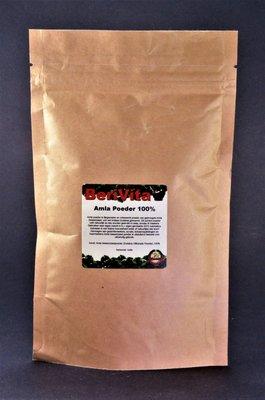 Amla Poeder 100% Zuiver 100gr - Gooseberry Powder, Indiase Kruisbes