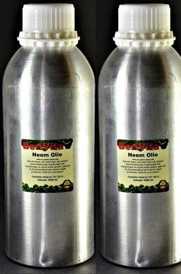 Neemolie 100% Puur 2 literflessen