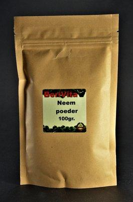 Neem Poeder 100% Zuiver 100gr - Gemalen Neemblad van Neemboom