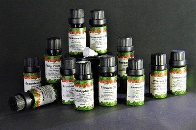 Set 12x10ml Etherische Oliën - 100% Zuiver en Puur Essentiële Oliën Set