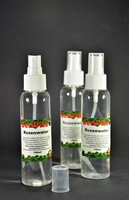 Rozenwater 100% Spray 3x 100ml - Hydrosol