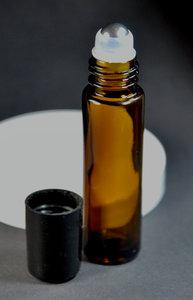 rollerfles olie bruin