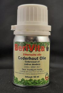 cederhout olie cedar 50ml