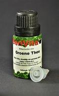 groene thee etherische olie