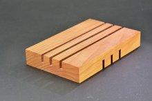 houten zeepbakje